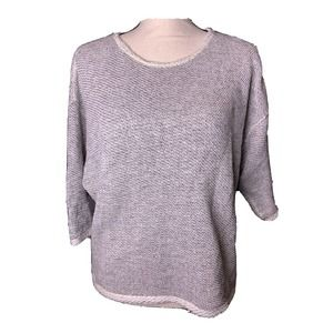 AMERICAN APPAREL Size S Knit Sweater Short Sleeve